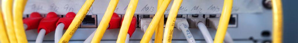 Netzwerklösung mit Panel und Switch